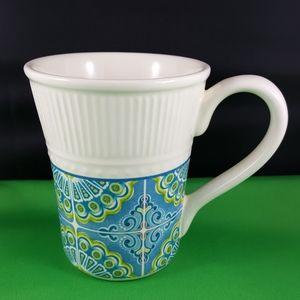 PIER 1 Imports ATLAS Coffee Mug, Geometric Design